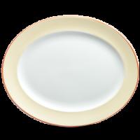 Churchill Sahara Oval Rimmed Dish 14 3/8