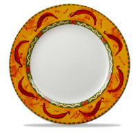 Churchill Salsa Classic Plate   (plain centre)   12 1/4