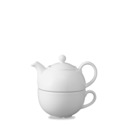 Churchill Snack Attack White One Cup Teapot  13oz  ( 36.2cl)