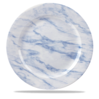 Churchill Textured Prints Blue Marble Plate  12