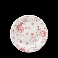 Churchill Vintage Prints Cranberry Rose Chintz Tea Plate 6 5/8