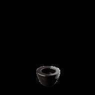 Churchill Voyager Black Comet Candle Holder 4.75cm 1 7/8