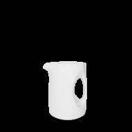 Churchill Plain Whiteware Jug 12oz  (34cl)  12 x 10 x 8.5cm   ( 4 3/4