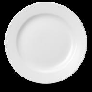 Churchill Plain Whiteware Classic Plate 10 5/8