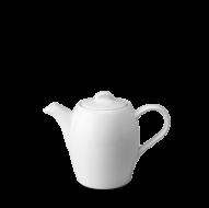 Churchill Plain Whiteware Cafe Teapot  12oz (34cl)