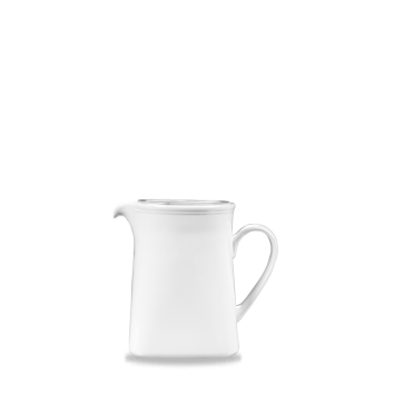 Churchill Plain Whiteware Square Jug   1.5 Litre    18 x 12cm   ( 7