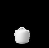 Churchill Plain Whiteware Covered Sugar Bowl  8oz (22.72cl)
