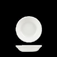 Churchill Plain Whiteware Rimless Fruit Bowl  5