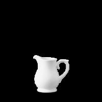 Churchill Plain Whiteware Sandringham Jug/Creamer (14cl) 1/4 Pint