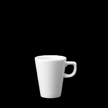Churchill Plain Whiteware Cafe Latte Mug 10oz  (28cl)   Height 10.5cm