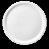 Churchill Plain Whiteware Pizza Plate/Platter  13 1/2