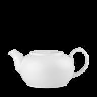 Churchill Plain Whiteware Nova Tea Pot 28oz (79.5cl)