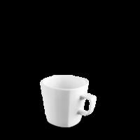 Churchill Plain Whiteware Square Mug 12oz (34.1cl)   9.2cm x 9cm   3 5/8