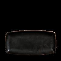 Churchill X Squared Black Sparkle Oblong Plate  11 3/4