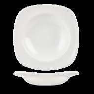 Churchill X Squared Plain Whiteware Square Pasta Plate 11