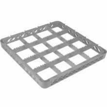 Genware 16 Compartment Extender Grey 500mm X 500mm