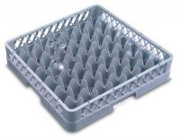 Genware 49 Compartment Glass Rack 500mm x 500mm
