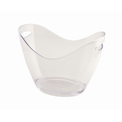 Clear Acrylic Champagne Bucket  7 litre capacity