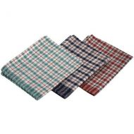 Mini Check Tea Towel 43 cm x 68cm   mixed colours  (10 pieces)