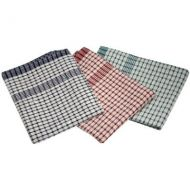 Standard Check Tea Towel 46 cm x 69cm  mixed colours  (10 pieces)