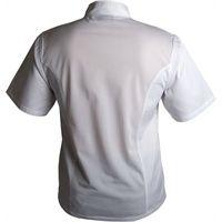 Cool Back White Short Sleeve Jacket