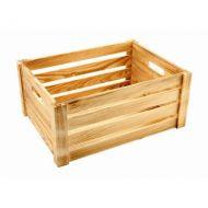 Rustic Wooden Crate 41cm x 30cm x 18cm