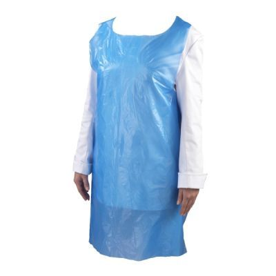 Blue Disposable PE Apron (100 pieces)
