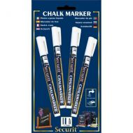 Chalkmarkers 4 Pack (White) Small