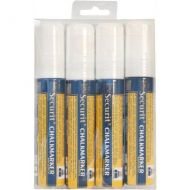Chalkmarkers 4 Pack (White) Large