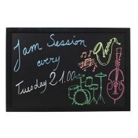 Wall Chalk Board 60cm x 80cm Black