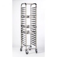 Stainless Steel Gastronorm 1/1 Trolley  20 shelves  58.5 x 45.5 x 170cm