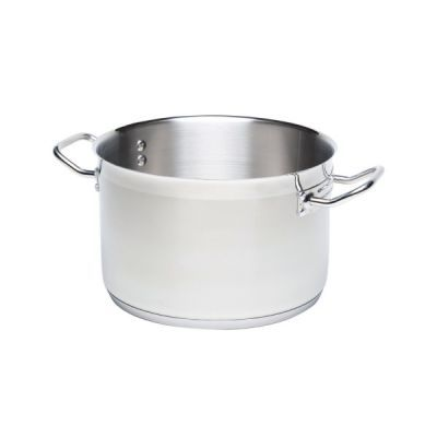 Stainless Steel  18/10 Genware Large Stockpot 50 litre 40 cm x 40 cm