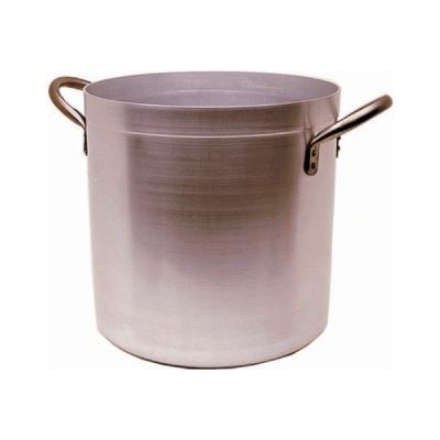 Medium Duty Aluminium Genware Deep Stockpot & Lid 28cm 17 litre