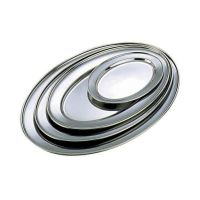 Stainless Steel Oval Flat 18
