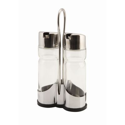 Oil & Vinegar Set with stand