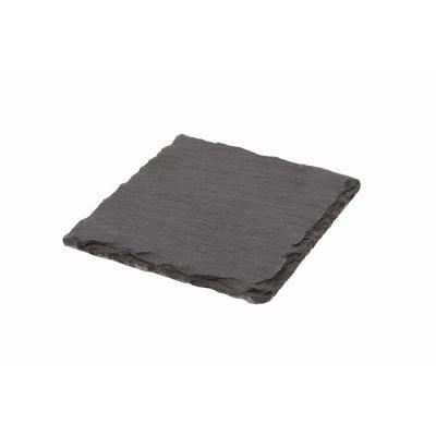 Natural Edge Slate  10cm x 10cm