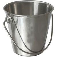 Stainless Steel Premium Serving Bucket  10cm diameter x 9cm high   55cl