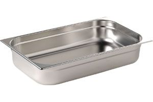Stainlesss Steel 1/1 Full Size Gastronorm Pan 40mm deep