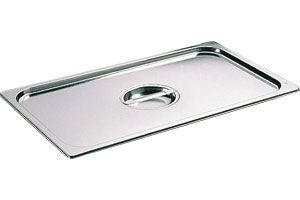 Stainless Steel 1/1 Full Size Gastronorm Lid