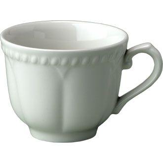 Churchill Buckingham White Elegant Tea Cup 7.75 oz (22.4cl)