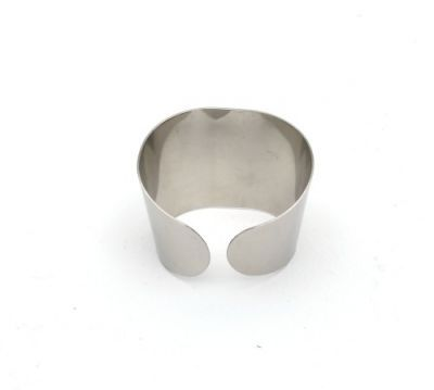 Stainless Steel Napkin Ring 5cm