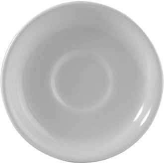 Churchill Plain Whiteware Saucer for Nova Stacking Tea Cup WHCN