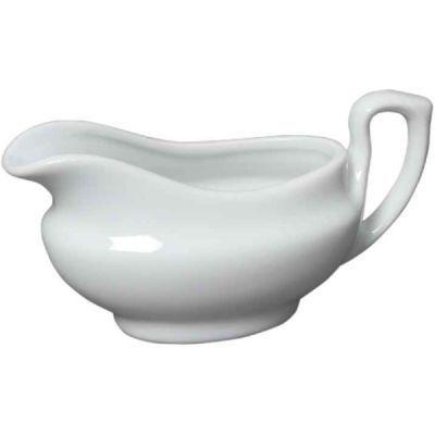 Royal Genware Porcelain Traditional Sauce Boat 14cl 5oz