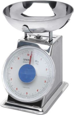 Stainless Steel Scales Limit 2kg Limit graguated in 10g