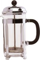 3 Cup Cafetiere Chrome 11oz (300ml)