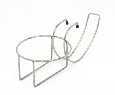 Chrome Plated Table Edge Bucket Stand