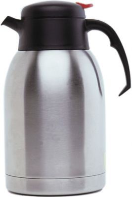 Genware Stainless Steel Vacuum Push Button Jug 1.5L