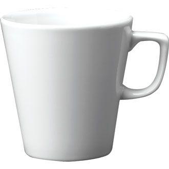 Churchill Plain Whiteware Cafe Latte Mug 20oz (56.8cl)
