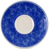 Churchill New Horizons Cappucinno Saucer Blue