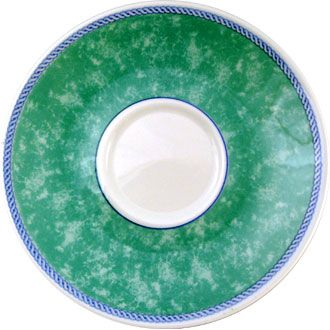 Churchill New Horizons Green Tea Saucer